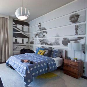Baseball wall murals wallpaper! | mural abstract | Pinterest ...