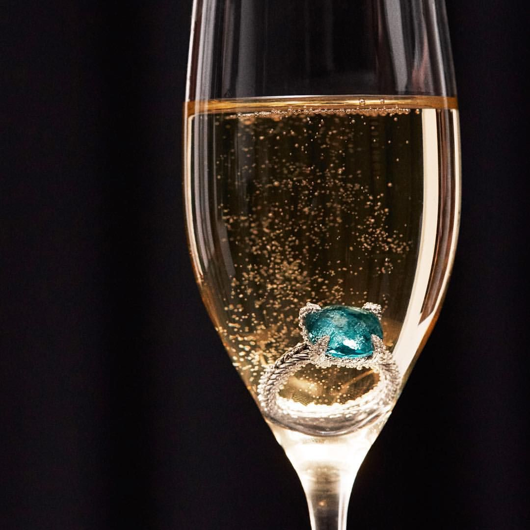 A most sparkling New Year's toast!