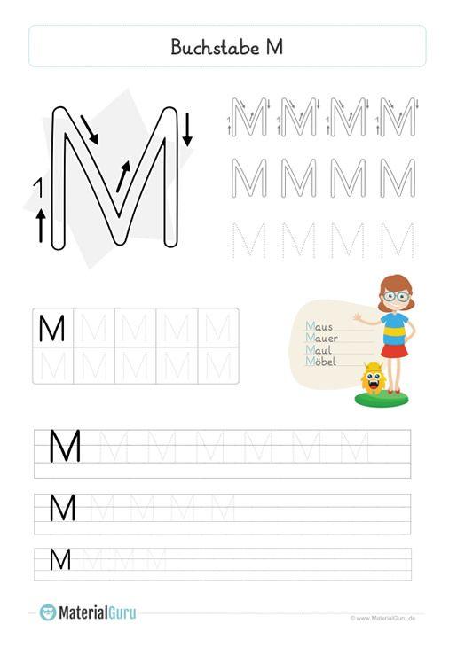 buchstabe m | buchstabe m, buchstaben lernen, lesen üben
