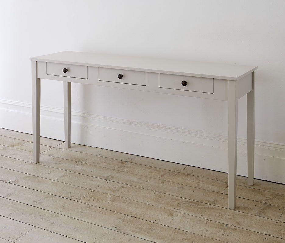 Very Narrow Console Table With Drawers