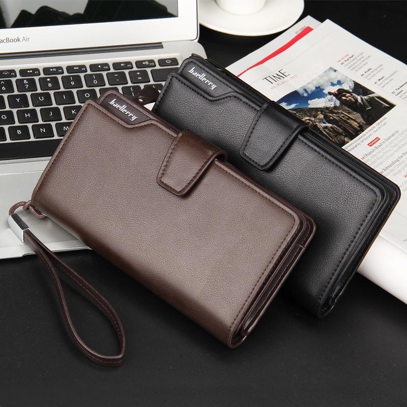 e7193e0d7 [Visit to Buy] Top Quality leather long wallet men pruse male clutch zipper  around wallets men women money bag pocket mltifunction 171-1 #Advertisement