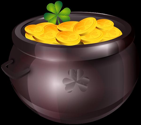 Pot Of Gold Png Clipart Image Clip Art Pot Of Gold Gold Clipart
