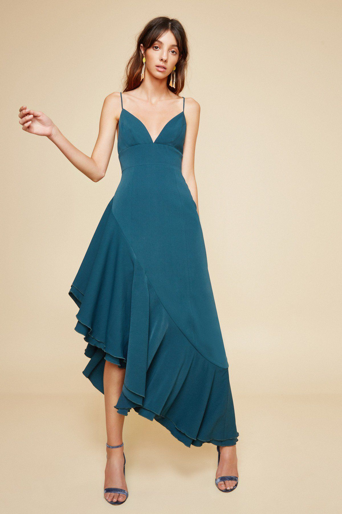 Temptation short sleeve gown   Short sleeves, Emeralds and Gowns