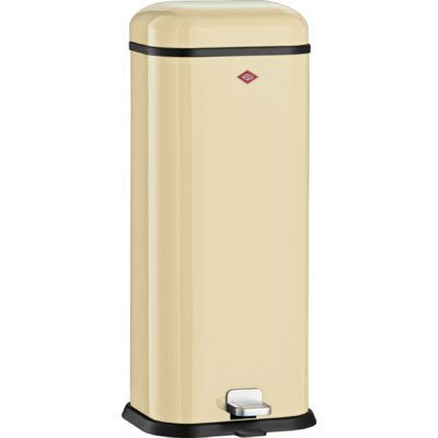 Wesco Kickmaster 33 Liter Aanbieding.Wesco Superboy Stainless Steel 5 28 Gallon Step On Trash Can