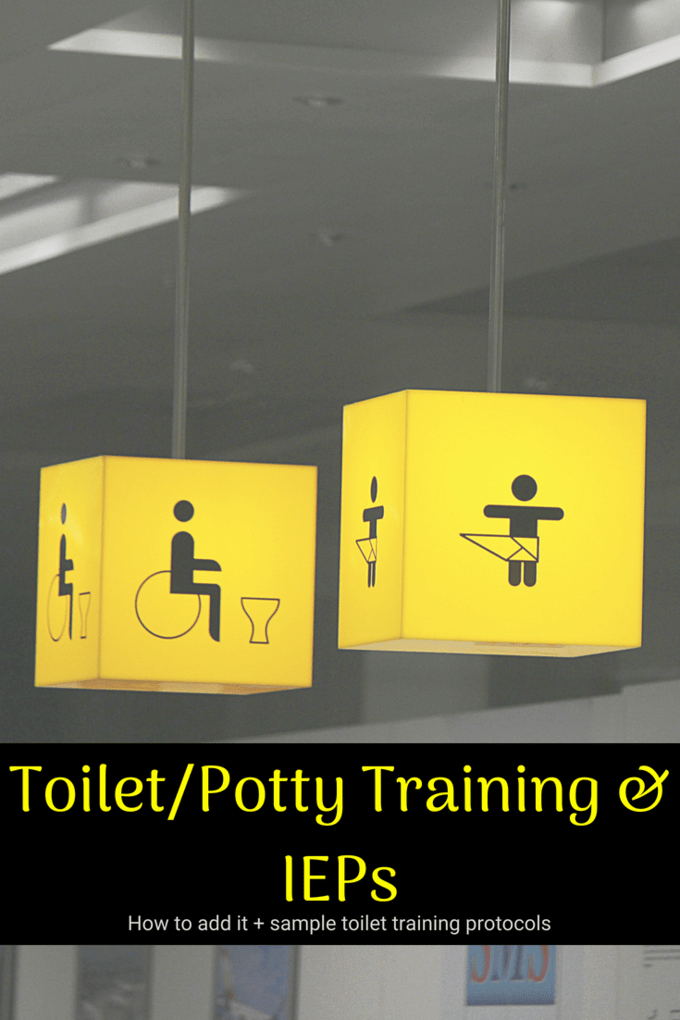 Toileting/Potty Training and your IEP: How to add it +