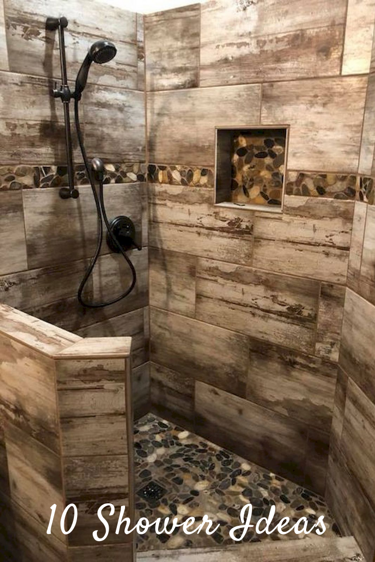 Rustic Shower Ideas Ways To Add Rustic Flair To Your Bathroom Posts Pics Rustic Bathrooms Diy Bathroom Decor Rustic Bathroom