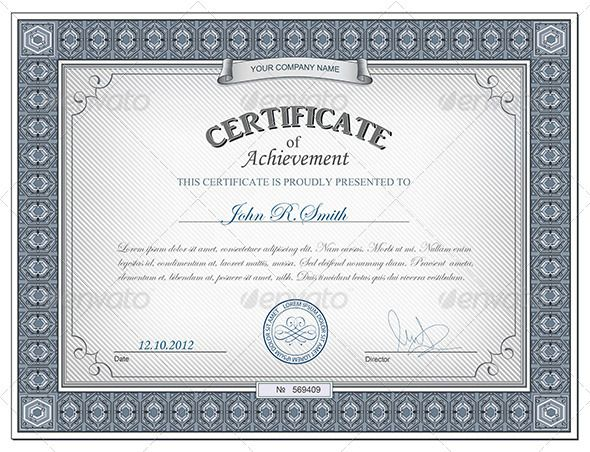 Detailed certificate Certificate, Fonts and Text fonts - blank stock certificate template free