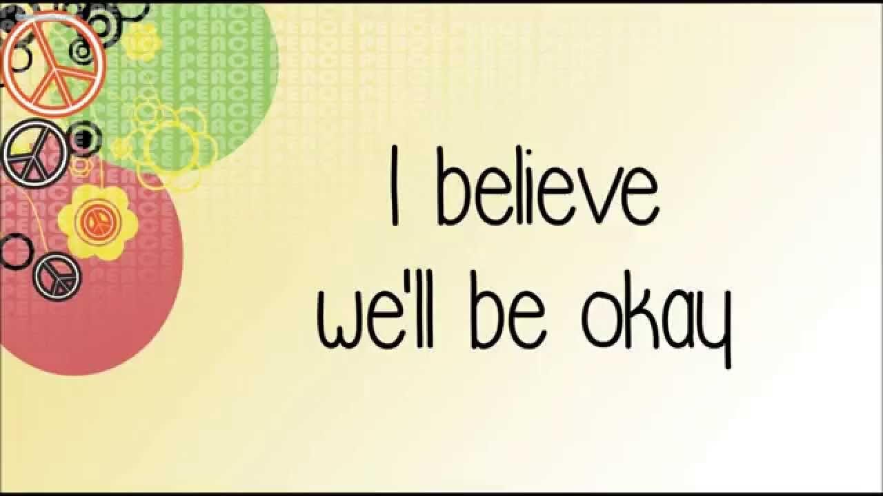 Glee - Be Okay (Lyrics) HD
