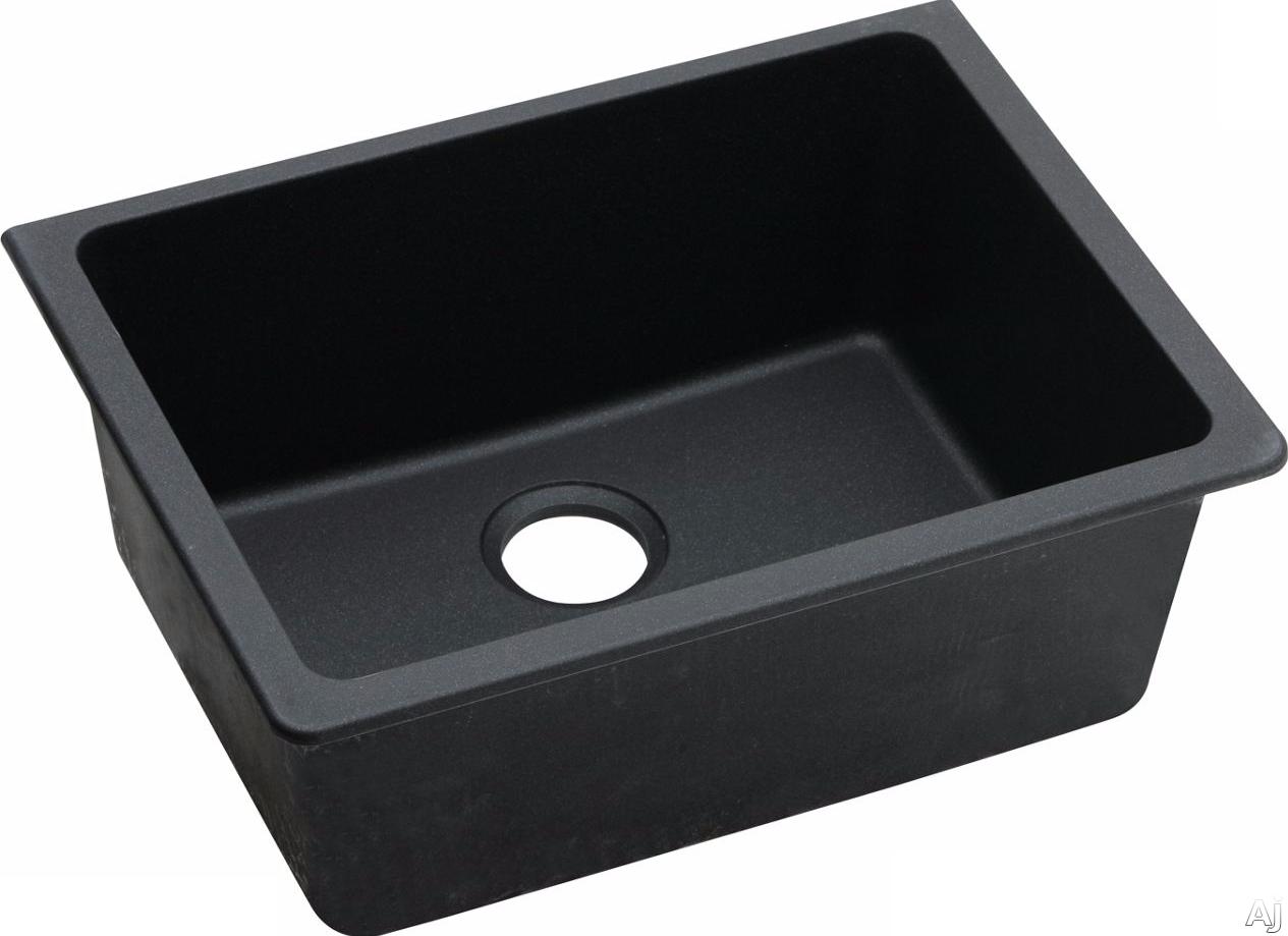 Elkay Gourmet E Granite Collection Elgu2522bk0 25 Inch Undermount Sink With E Granite Construction 9 1 2 Inch Bowl D Undermount Kitchen Sinks Sink Kitchen Sink