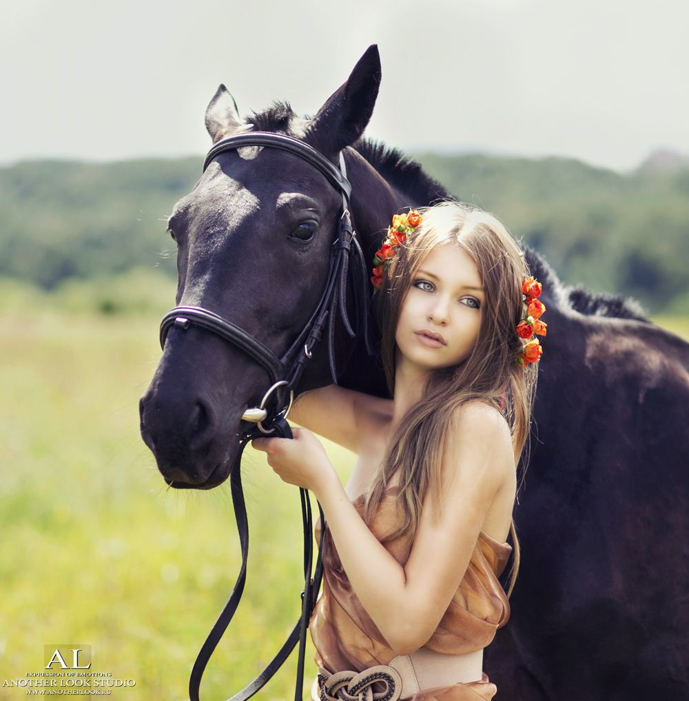 girl | horse | fotograiya | idea | poses