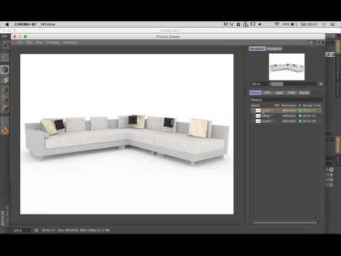 32) Cinema 4D - Working with Ambient Occlusion (Vray