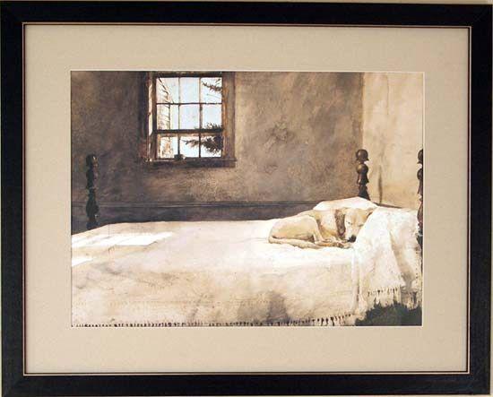 Andrew Wyeth Master Bedroom Original Andrew Newell Wyeth