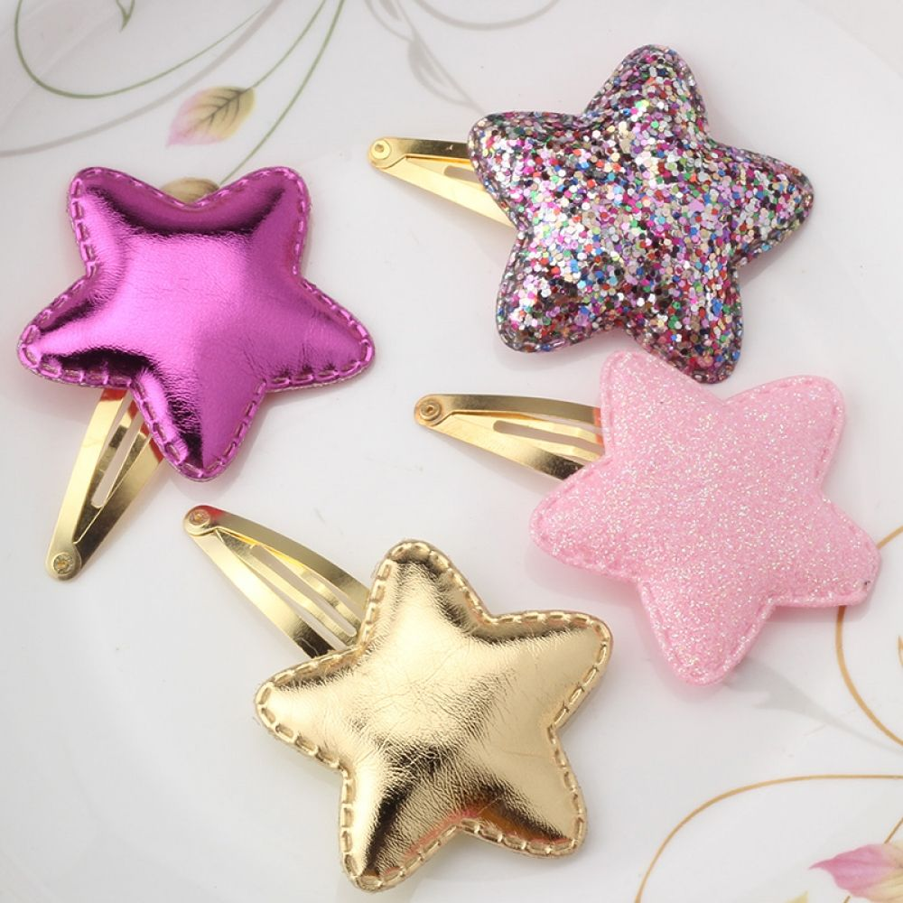 Summer Style Metal Hair Clips #kidshairaccessories