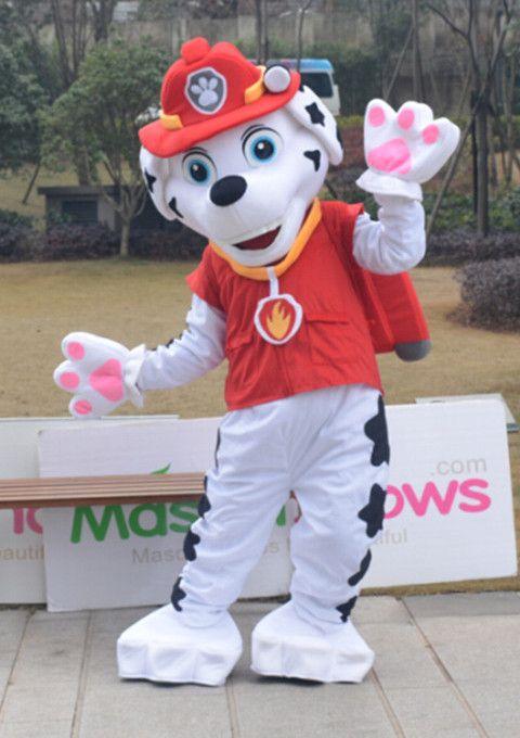 Costume mascotte paw patrol marcus d guisement adulte halloween pat patrouille paw patrol l - Pas de patrouille ...