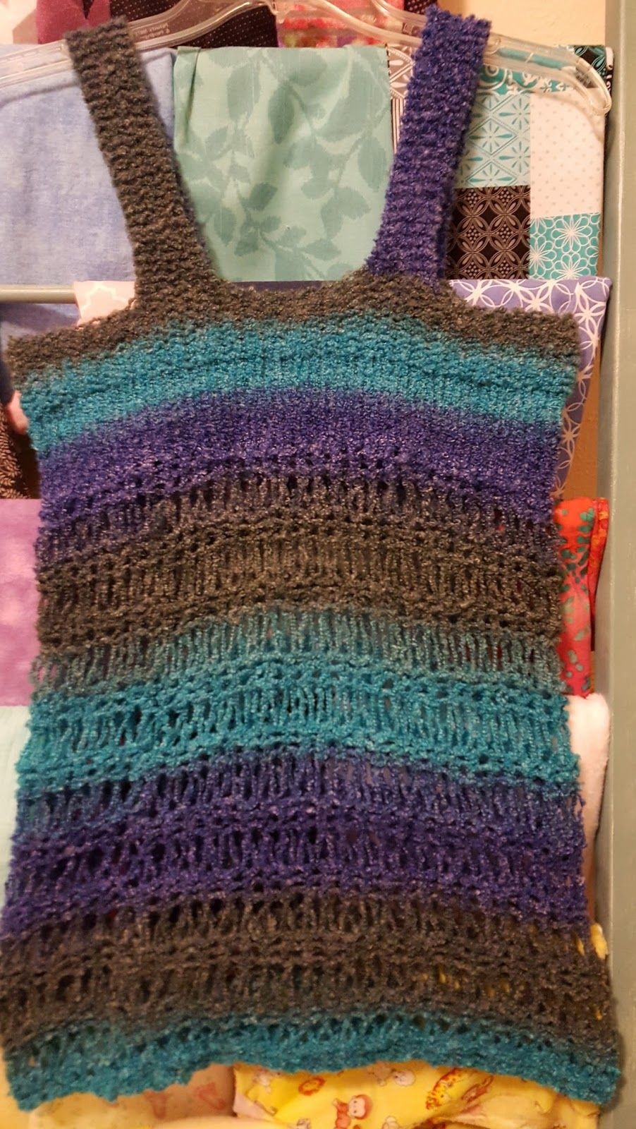 Loom Knit Tunic Free pattern in Craft Craze Group | Knifty Knitter ...