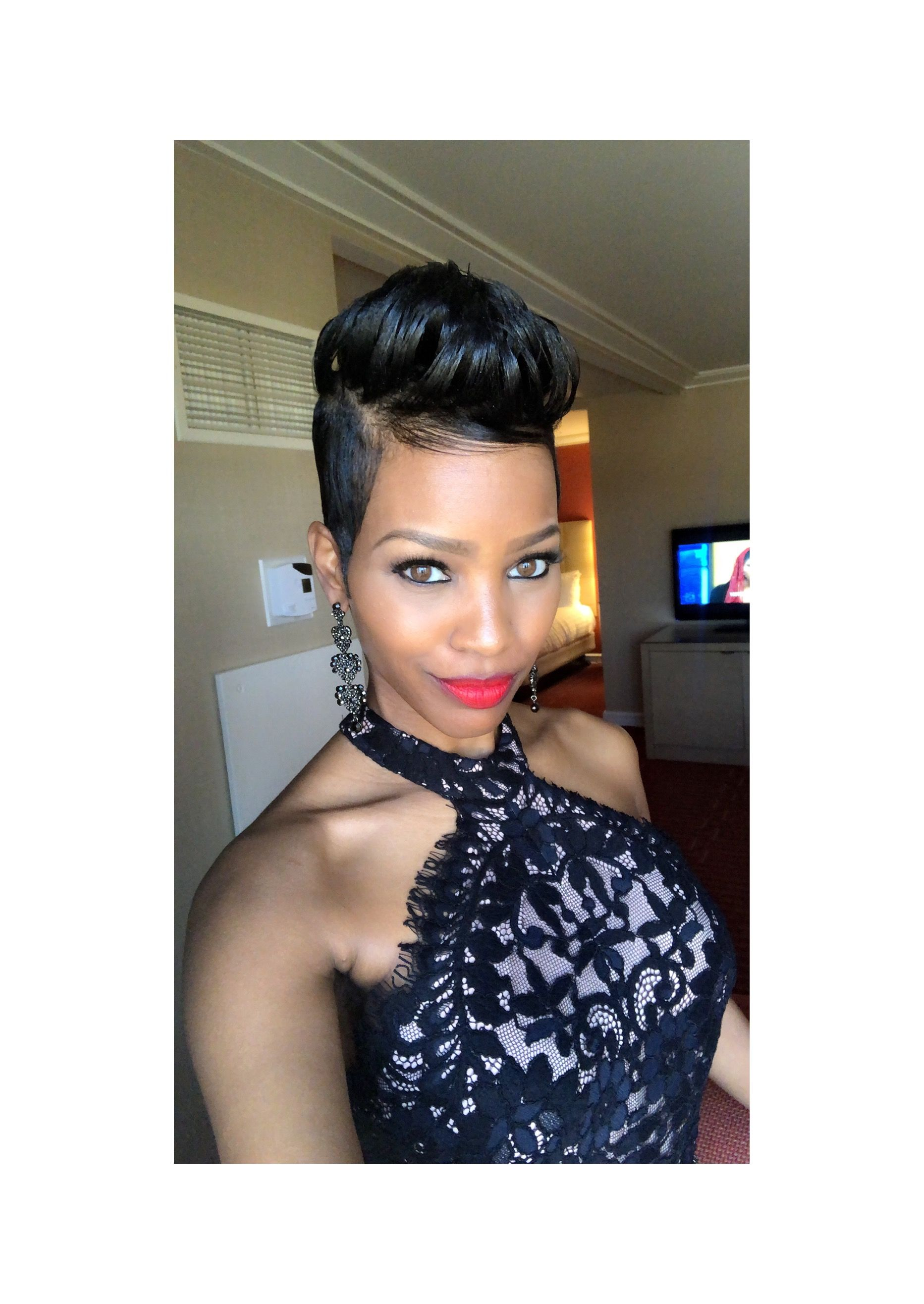 Pin by michelle mutura on faux hawk hairstyles pinterest short