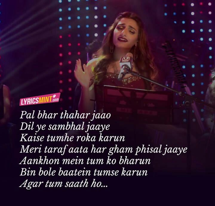 Lyric lines song lyrics : Bas tum sath ho....request hai yh | Heart | Pinterest | Lyric ...