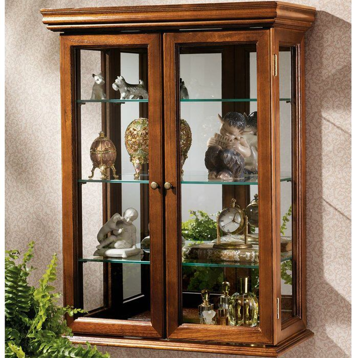 Lovely Kimberley Country Tuscan Wall Mounted Curio Cabinet | Making My Place A  Home | Pinterest | Wall Mount And Walls