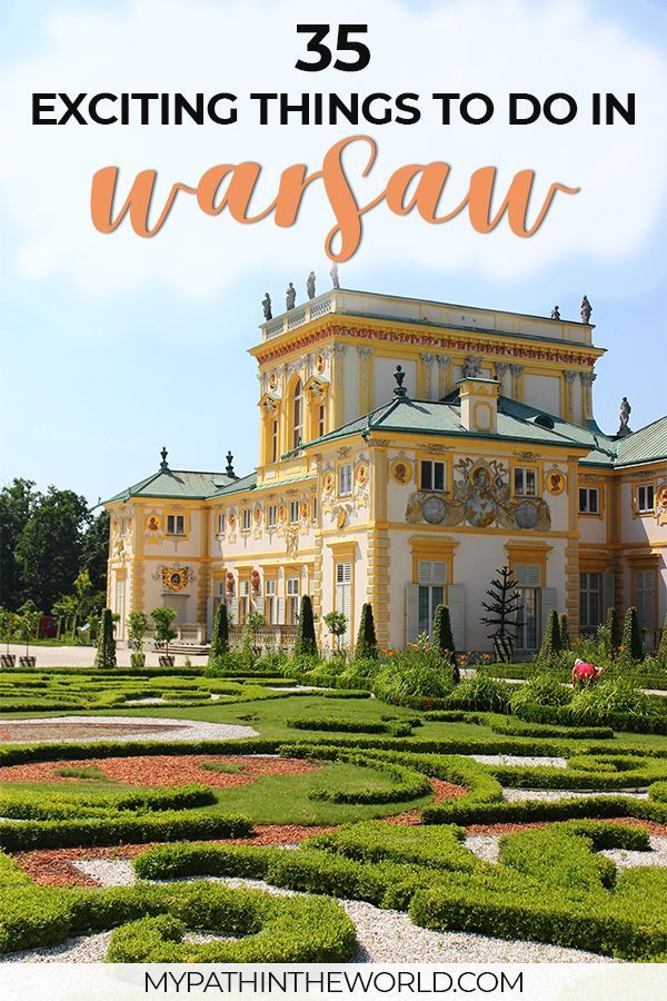 Traveling to the city of Warsaw? Wondering what to do in Warsaw Poland? Here are the best things to do in Warsaw including must see places, what to eat and other travel tips.