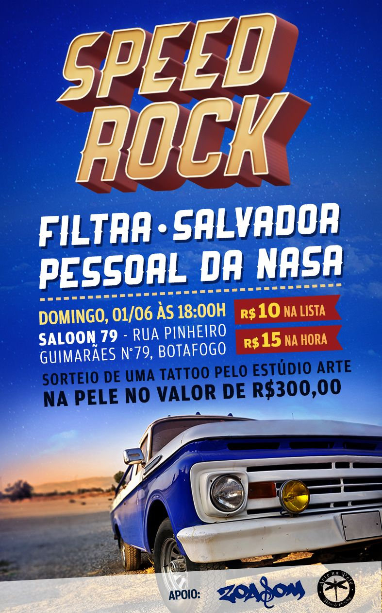 Poster - Speed Rock