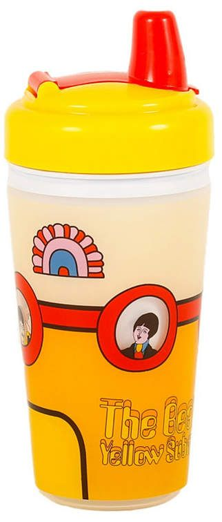 Daphyl S The Beatles Yellow Sub Sippy Cup Reviews All Baby Gear Essentials Kids Macy S Baby Boy Shower Favors Beatles Baby Cup Decorating