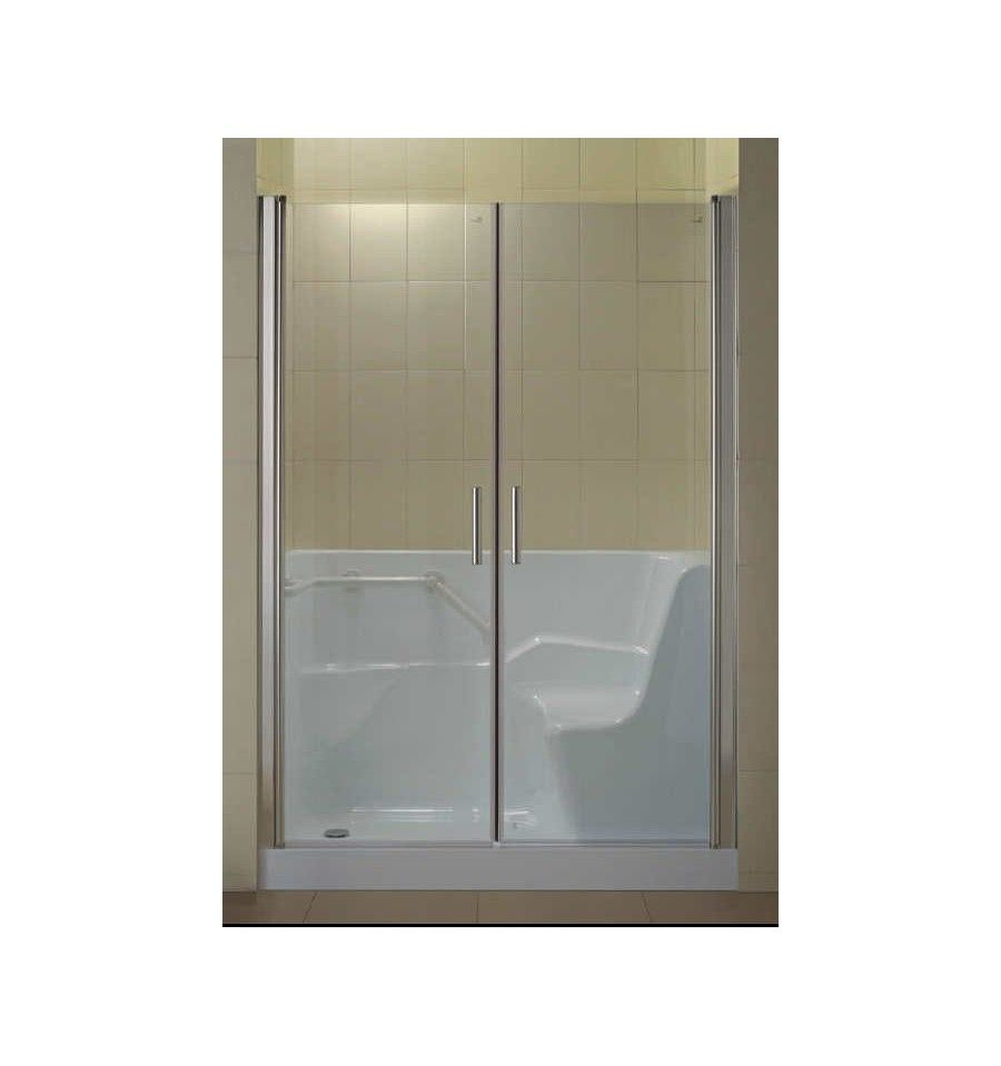 CODALI combiné baignoire douche- Baignoire a porte - Salle de bain design