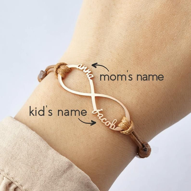 Mother/'s Day Gift From Son From Daughter Kids Husband Family Tree Bracelet Mothers Day Gift for Wife Personalized Mom Jewelry Mom Bracelet