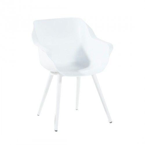 Designstuhl Hartman Sophie Gartenstuhl Alu/Kunststoff weiß - gartenmobel kunststoff design