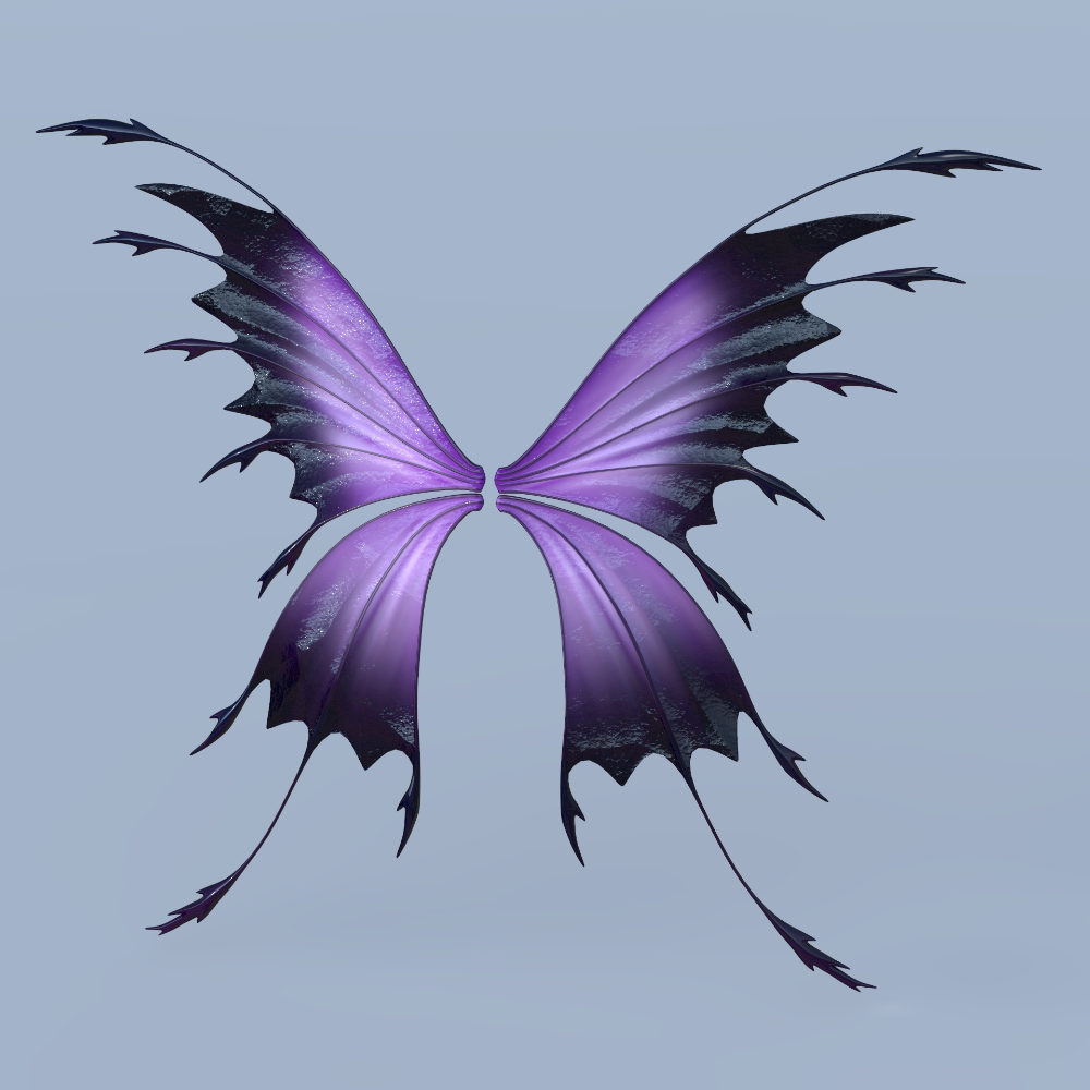 3d Set Fairy Butterfly Wings Turbosquid 1299683 Butterfly Tattoo Designs Butterfly Wings Butterfly Fairy