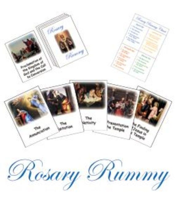 Pictures Of The Mysteries Of The Rosary. Great For Kids