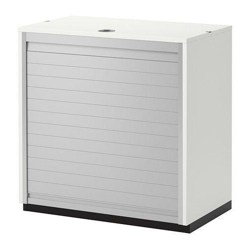 GALANT Meuble rideau blanc IKEA Meuble Bureau
