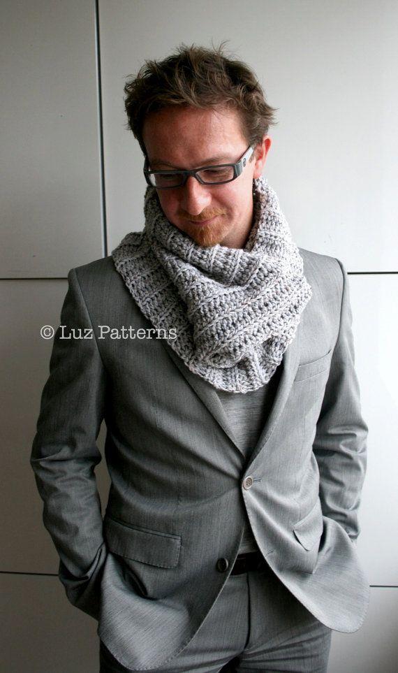 CROCHET PATTERN adult snood crochet pattern by LuzCrochetPatterns, $4.99