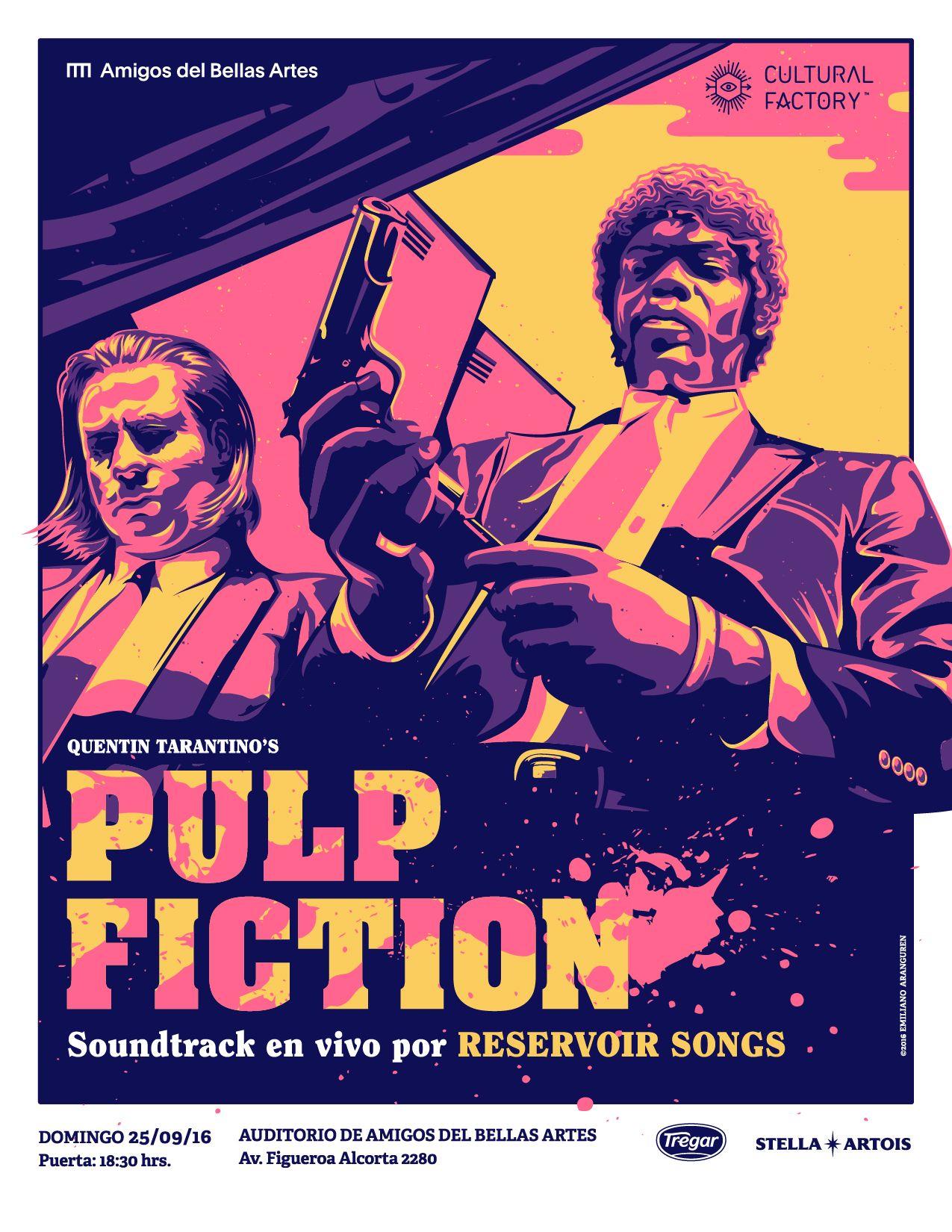 Pulp Fiction | Movies that change my life | Pinterest | Películas ...