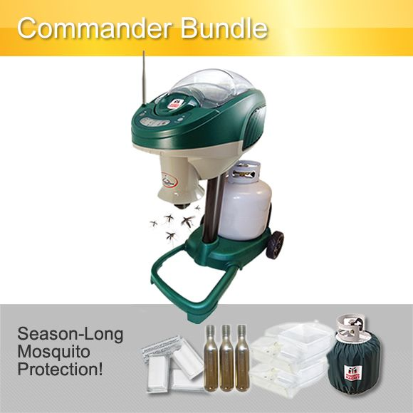 This Mosquito Magnet® Commander Bundle comes with R-Octenol