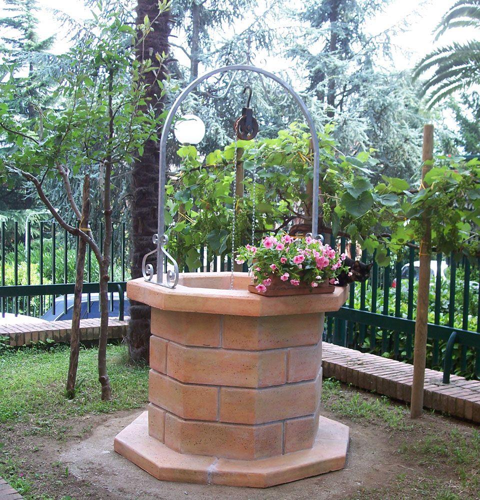 Pozzo 80 finitura pietre del borgo localit avellino - Pozzi da giardino ...