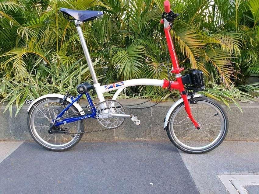 Sepeda Lipat Modifikasi In 2020 Bicycle