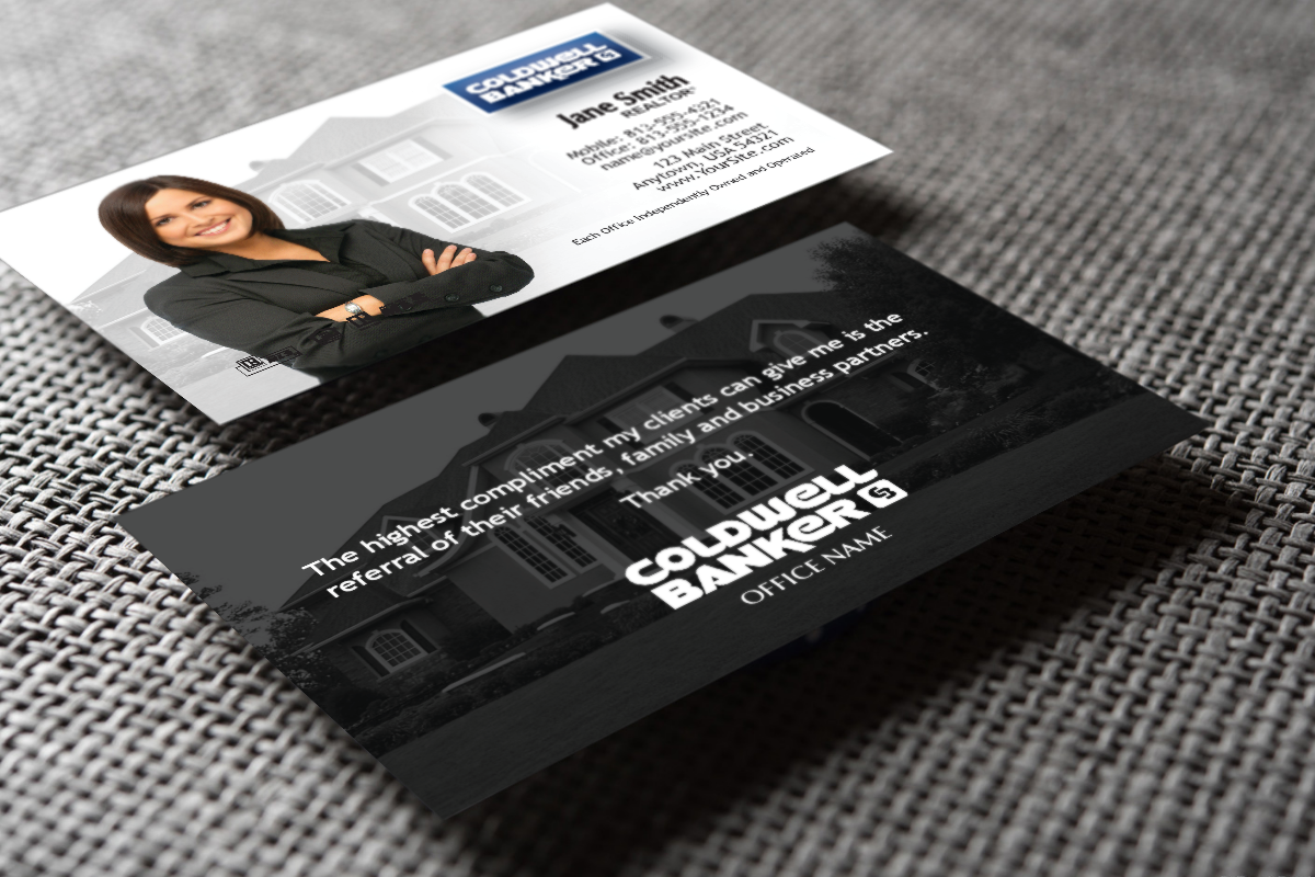 Coldwell Banker Realtors Do You Need A New Business Card Realtor Cold Realtor Business Cards Stunning Business Cards Professional Business Cards Templates