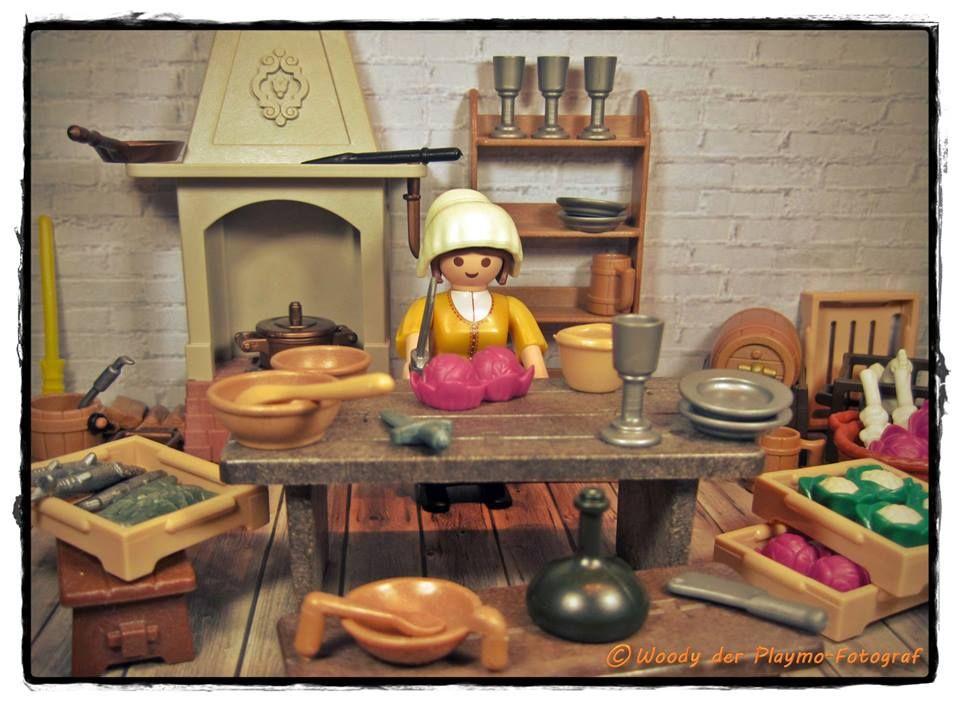Playmobil Cocina Medieval Playmobil Playmobil Figuren