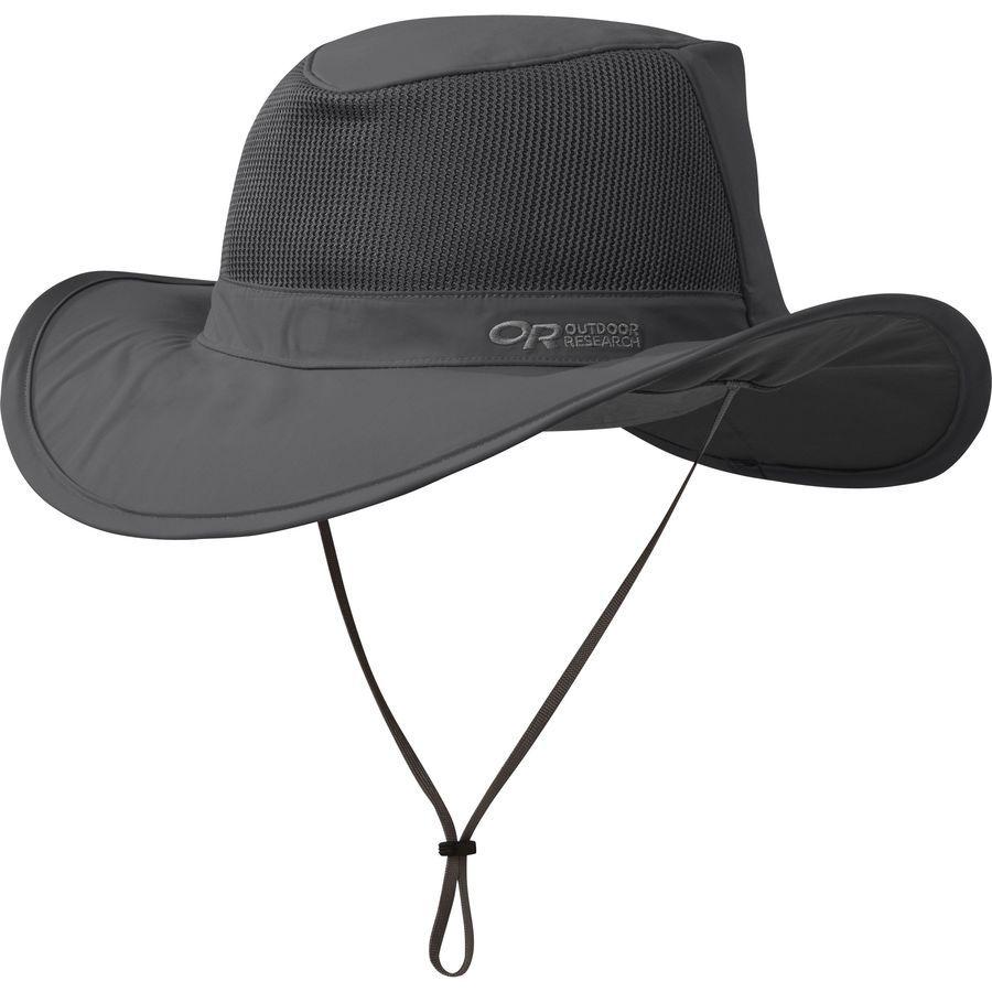Outdoor Research Ghost Rain Hat Charcoal   Hats for men, Rain hat mens, Rain  hat