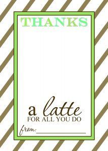 Thanks a Latte FREE Printable Gift Card Holder Teacher Gift | Mama Cheaps -  Thanks a Latte FREE Printable Gift Card Holder Teacher Gift | Mama Cheaps  - #amazongiftcard #Card #cheaps #Free #freegiftcard #Gift #giftcardluxury #holder #latte #Mama #printable #teacher #thanks