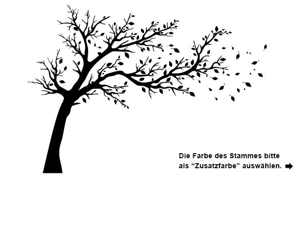 Das Wandtattoo Großer Baum Im Wind Hier Bestellen. ✓ Große Auswahl | Top  Qualität |
