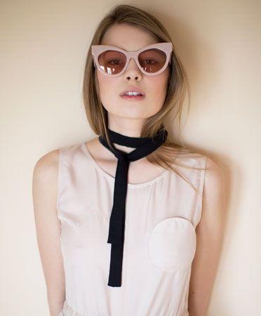 500d4c8149a Karen Walker / Dusty Pink Starburst | Sunnies and Goggles | Pink ...