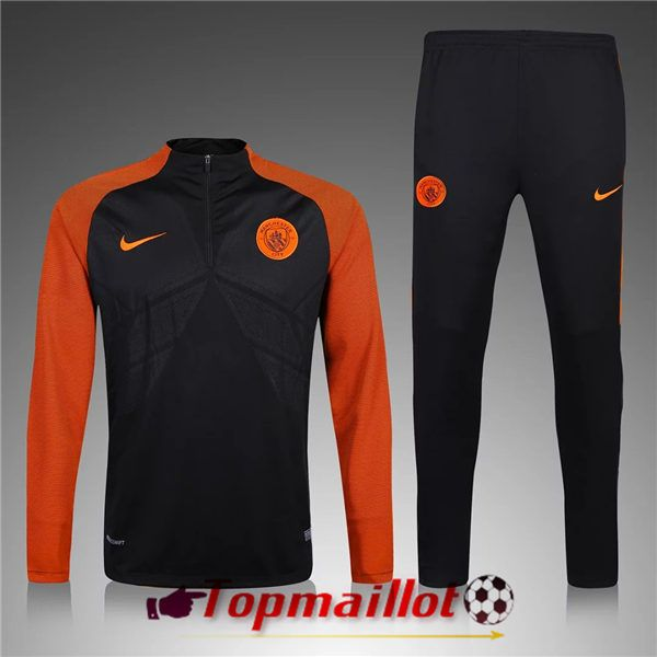 ensemble de foot Manchester City noir
