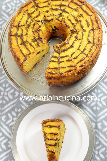 Chiffon Cake alla Zucca di Halloween   Pinterest