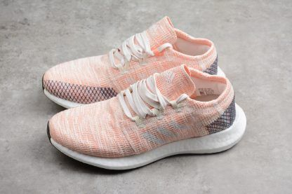 6a95aea83 Female adidas Pure Boost GO Pink/White-Blue For Running AH2326 in ...