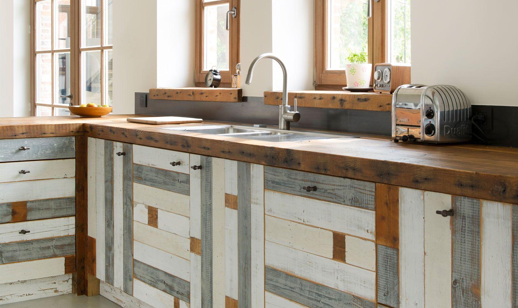 Keuken sloophout   restylexl met sloophout van nederlandse bodem