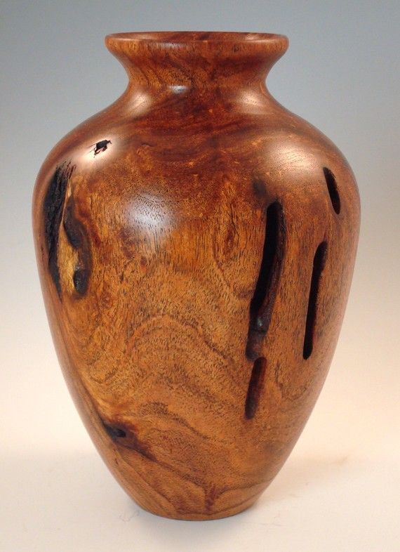Texas Mesquite Wood Hollow Form Vase Pinterest Mesquite Wood