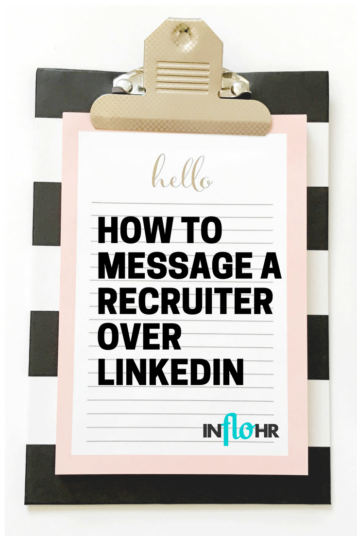 How to Message a Recruiter over LinkedIn (With images