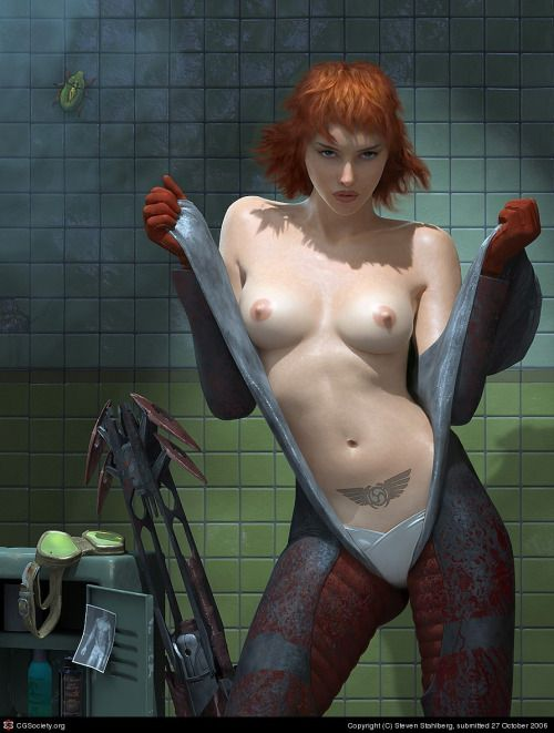 characters nude Female