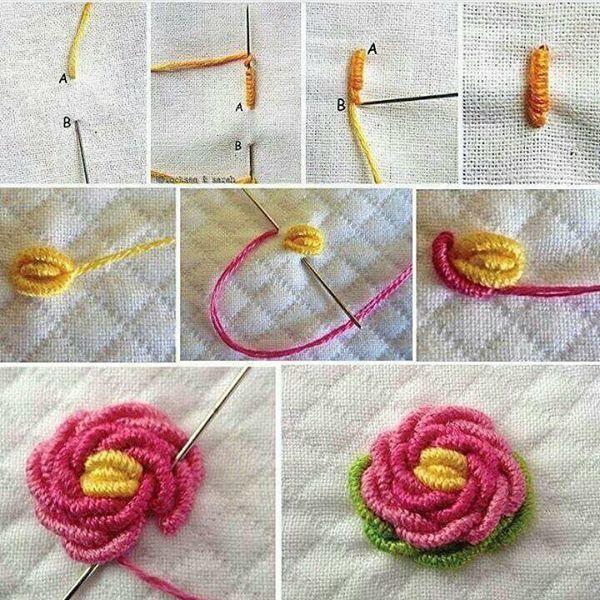 Totoro Crochet - Crochet: Punto Hojuelas #irishcrochetflowers